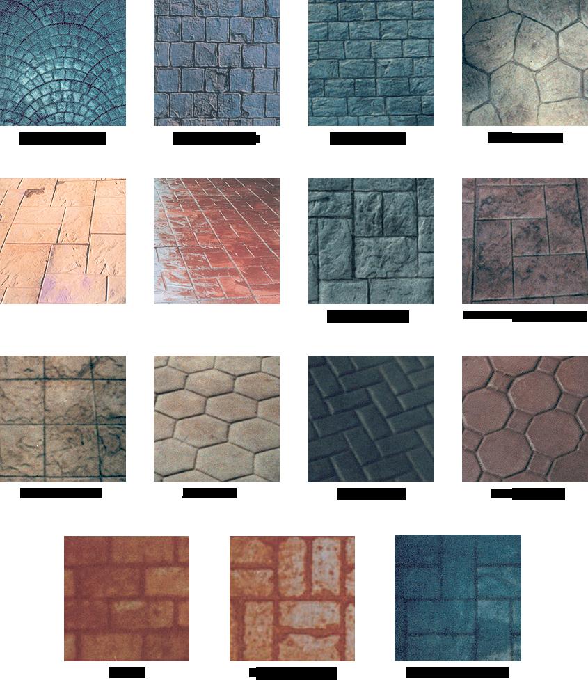 Hormig n impreso y pavimentos industriales pulimasa s l - Tipos de pavimentos ...