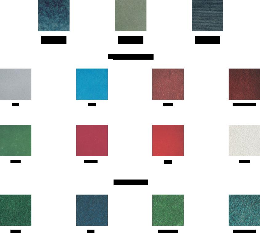 Colores de resina y mortero epoxi